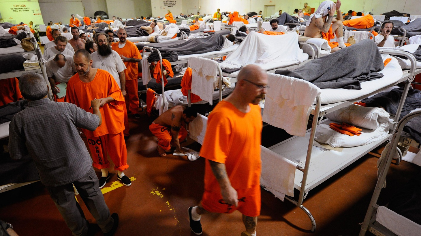 Governor Brown has signed a new law to keep tens of thousands of  non-violent felons in county jails, rather than in hopelessly  overcrowded state prisons...