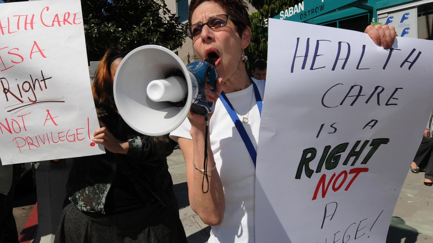 Rising unemployment means a quarter of Californians under 65 don't have health insurance. State cutbacks could make matters worse. Also, Governor Schwarzenegger says he wants to cut the deficit. Why has he vetoed spending reductions? On our rebroadcast of To the Point, the Obama Administration is making nice with Israel today -- at least in public -- but tensions are still high over housing plans in East Jerusalem and American credibility in the Middle East.