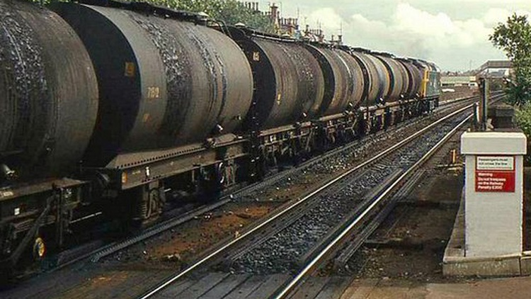 Right now, just 1% of the crude oil refined in California gets here by rail. In two years it'll be 25%, on trains that haul 100 tank cars at a time.