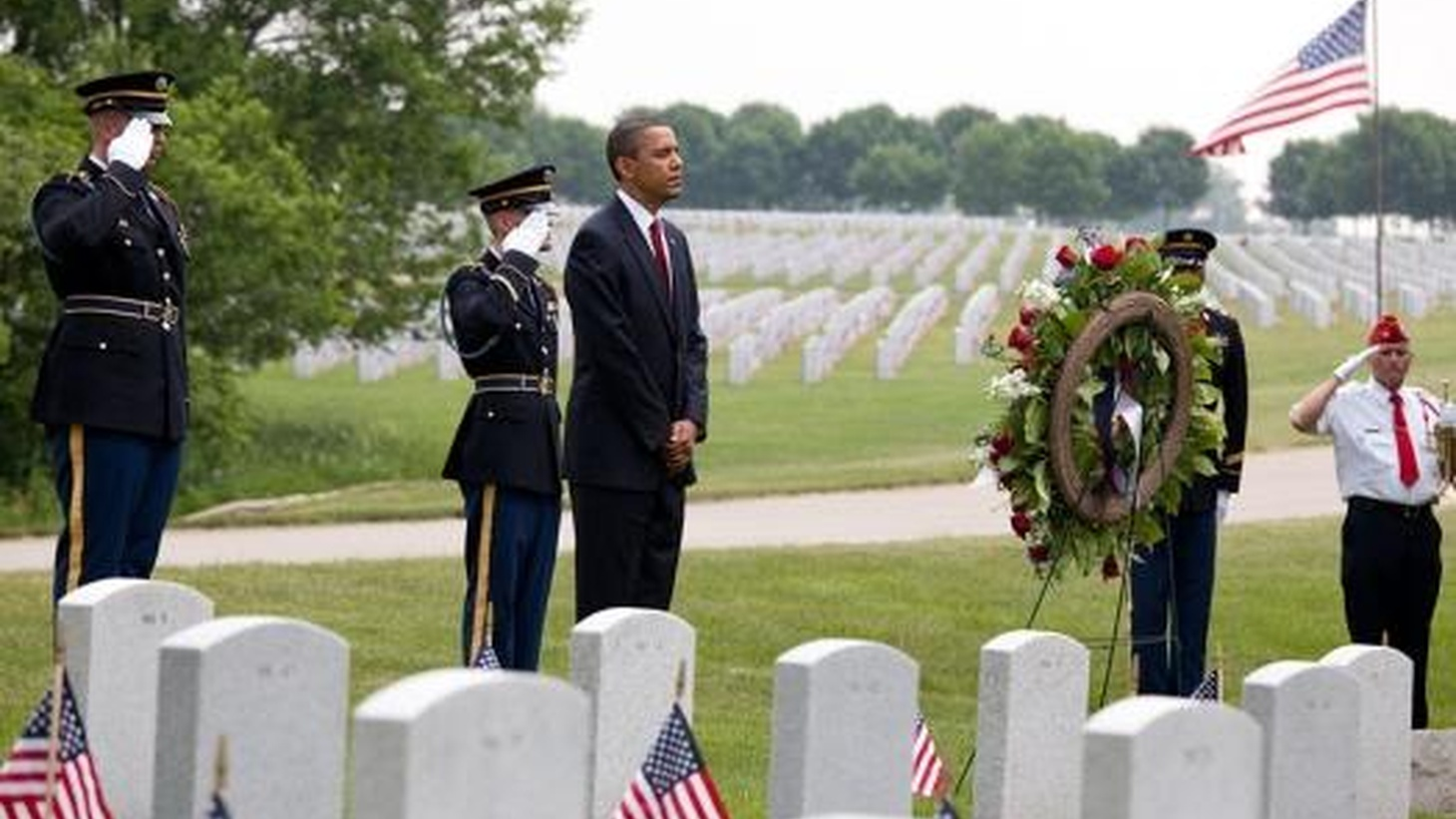 Memorial Day might seem as American as Apple Pie, but it takes on different forms for different people at different times. On this rebroadcast of today's To the Point, we hear about memorializing the war dead from Arlington National Cemetery to the Internet. Also, the official beginning of hurricane season, and Apple overcomes Microsoft.