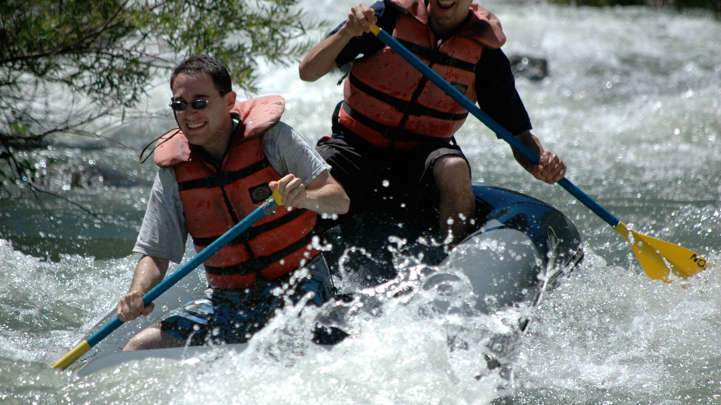 White-water rafting, fly-fishing and boating are out of business in many lakes and rivers. Restaurants in Catalina aren't serving water, and rationing is on the way. We'll hear what drought means for the $85 billion outdoor tourism industry.