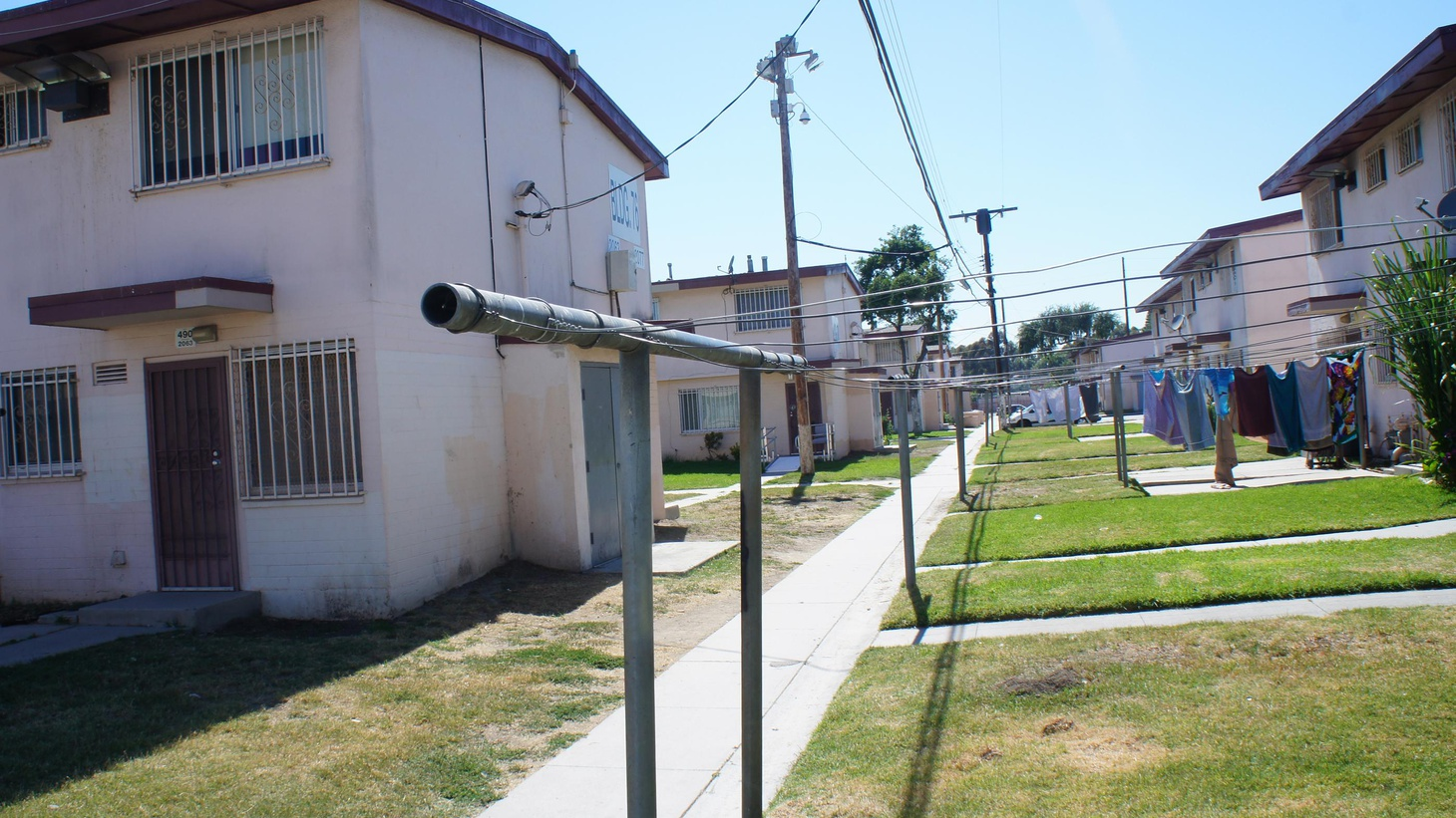 Developers have plans to tear down 700 units of public housing, to upgrade Watts without displacement of the low-income people that comes with gentrification.