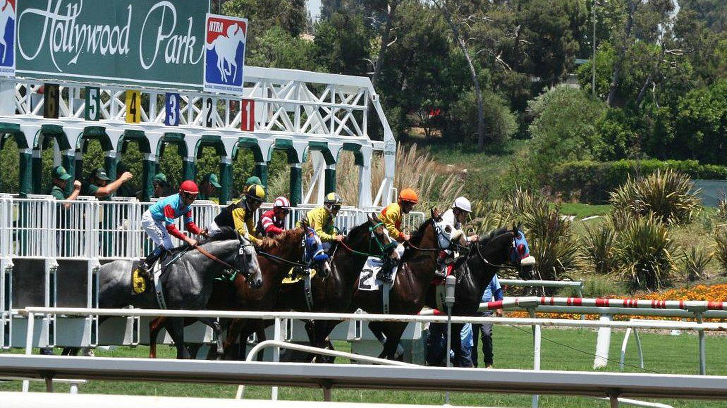 After 75 years, the last race will be run at Hollywood Park this Sunday. Once the playground of Hollywood stars, it's slated to become a mixed use development.
