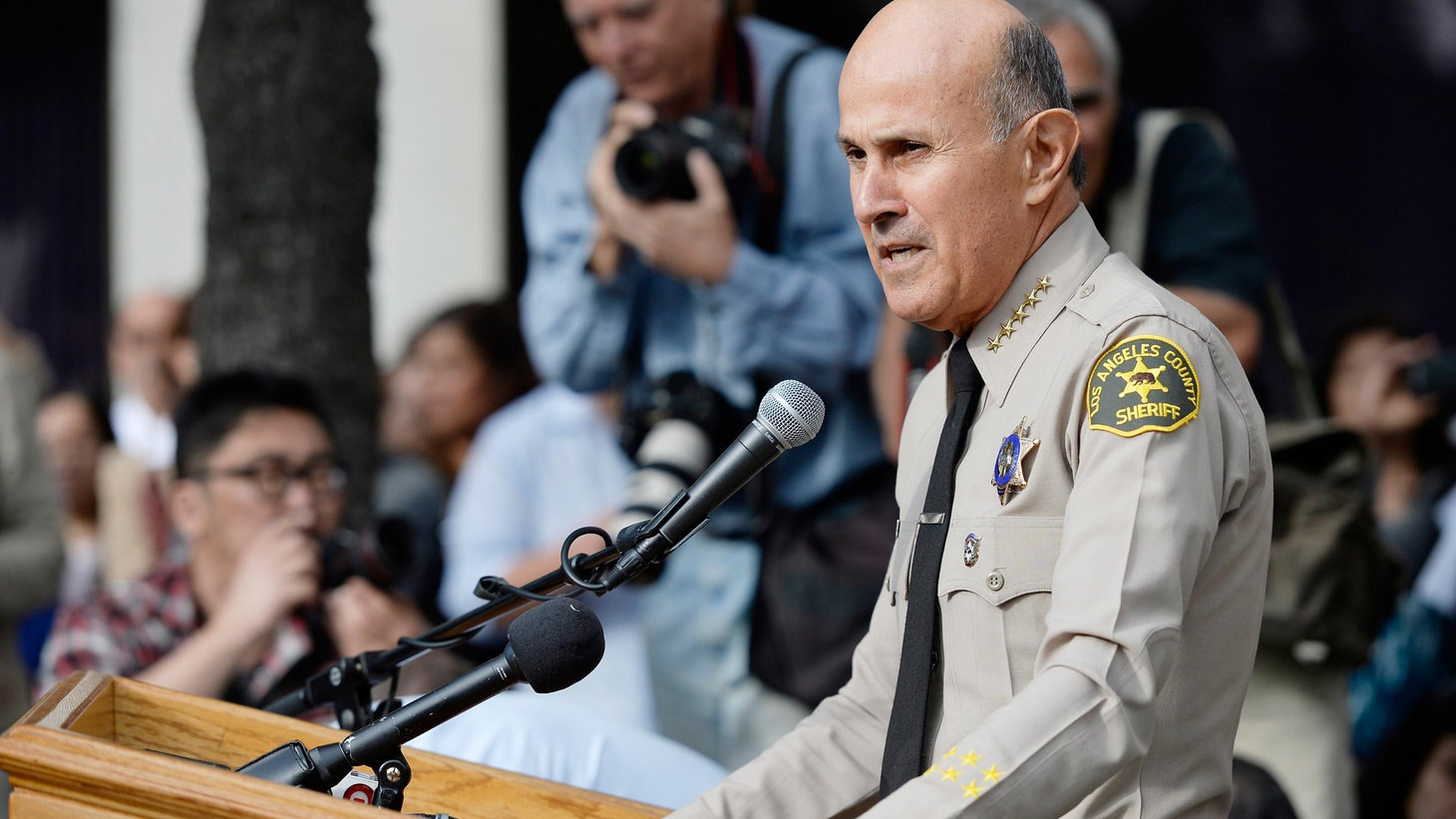Today, after 15 years as Los Angeles Sheriff, Lee Baca is stepping down. Last month, the US attorney indicted 18 sheriff's deputies. How much is he to blame?