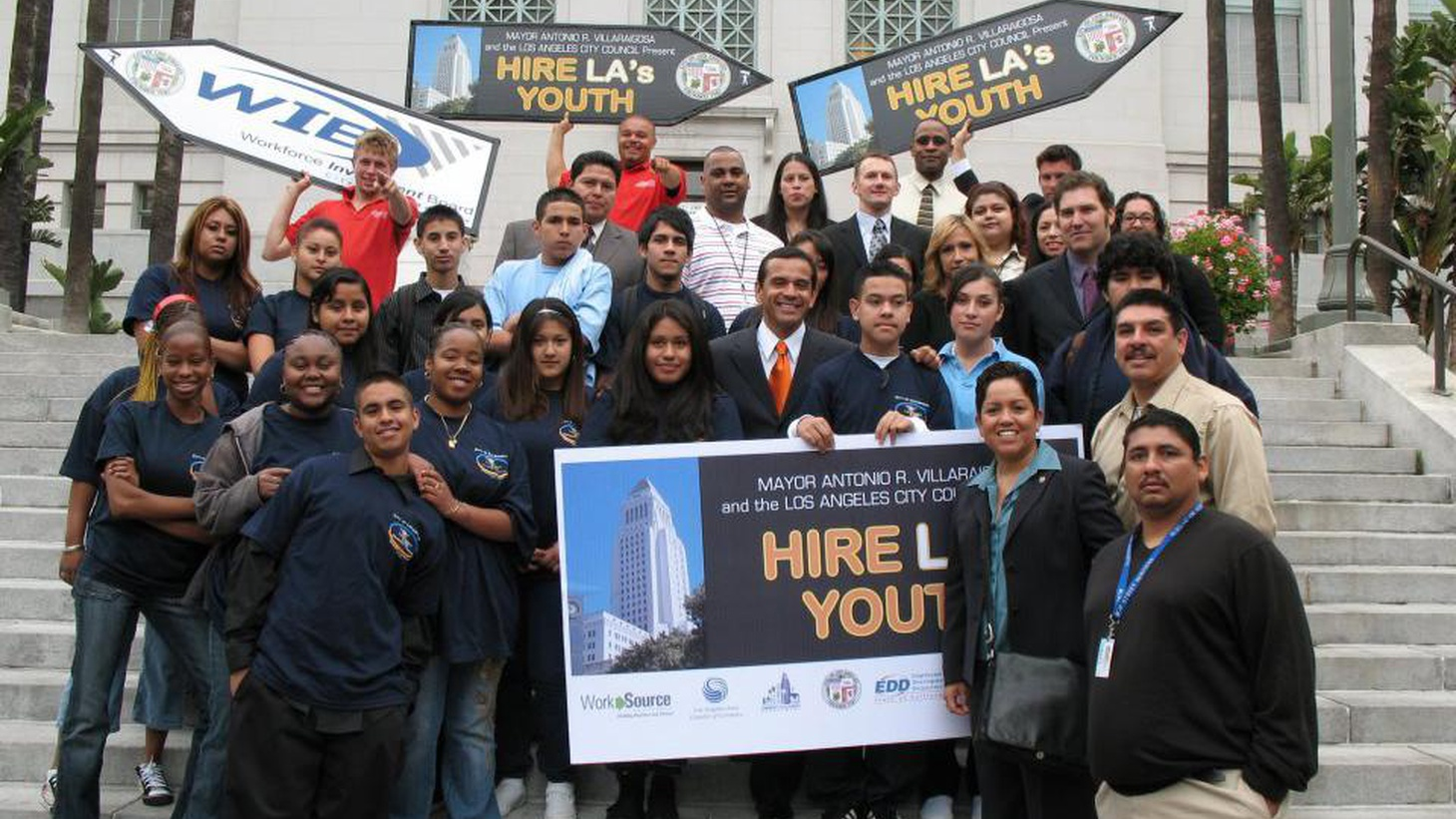 We talk with teens about the challenges they face in finding summer jobs and hear about the LA Chamber of Commerce's mock hiring process that provides help.
