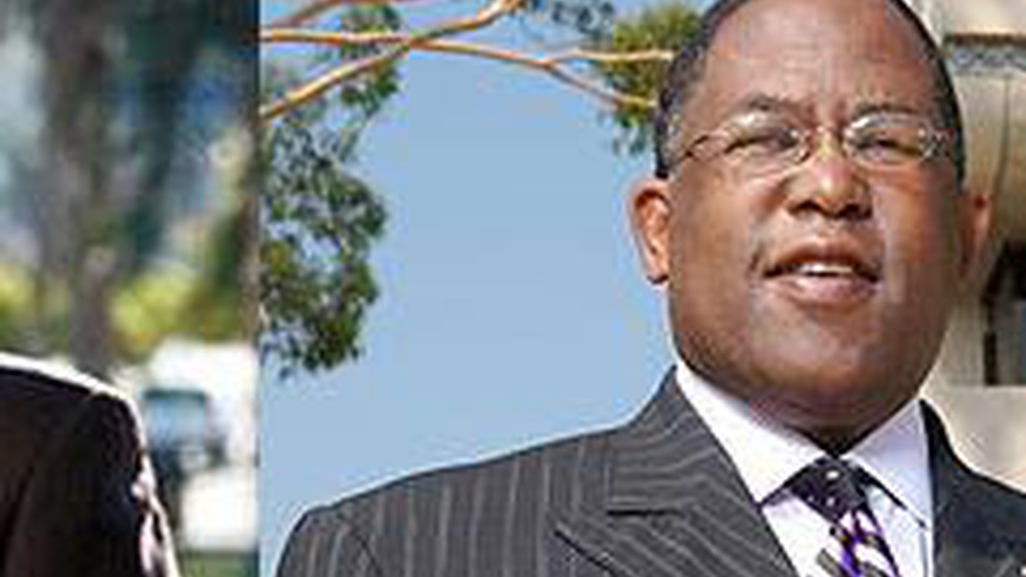 One of the rarest events in Los Angeles politics is an actual contest for a seat on the county board of supervisors. But Yvonne Burke's resignation has set the stage for a confrontation between state senator Mark Ridley-Thomas and LA City Councilman Bernard Parks.