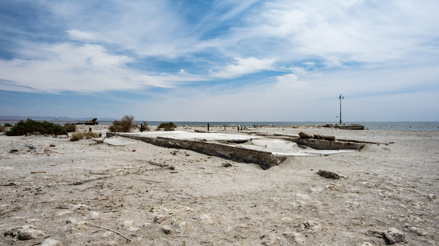 The Salton Sea in Imperial County is bigger than Lake Tahoe. Created by accident 110 years ago, it became a habitat for fish, migratory birds—and Hollywood celebrities. But now it's become a dustbowl of toxic chemicals. Will the State make good on a promise to save it?