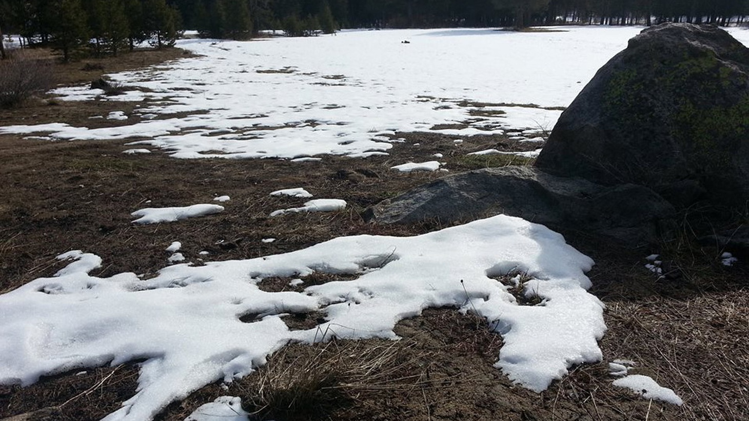 Mammoth and Lake Tahoe have been hurting for three years because of the drought. Climate change means late winters, early springs and mountain slopes that used to be covered with white powder still brown under rising snowlines. Does snow itself have a future?