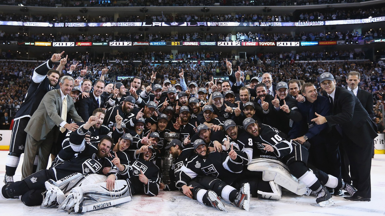For the first time in their 45 years of existence, the LA Kings have won the Stanley Cup, the championship of pro hockey. We hear how the very unlikely took place.