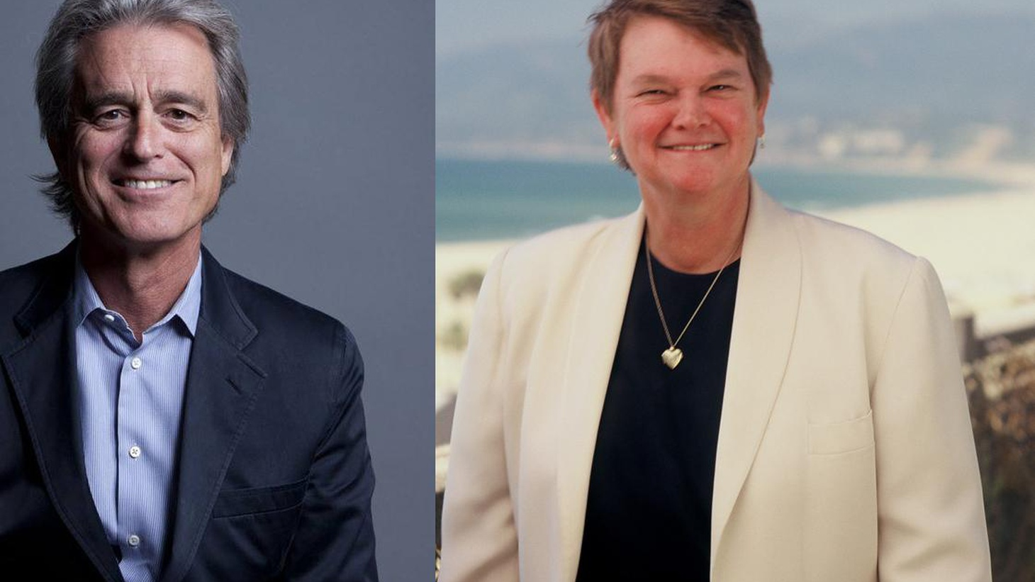 We hear from Bobby Shriver and Sheila Kuehl, front-runners for the seat now occupied by LA County Supervisors Zev Yaroslavsky, who's termed out.