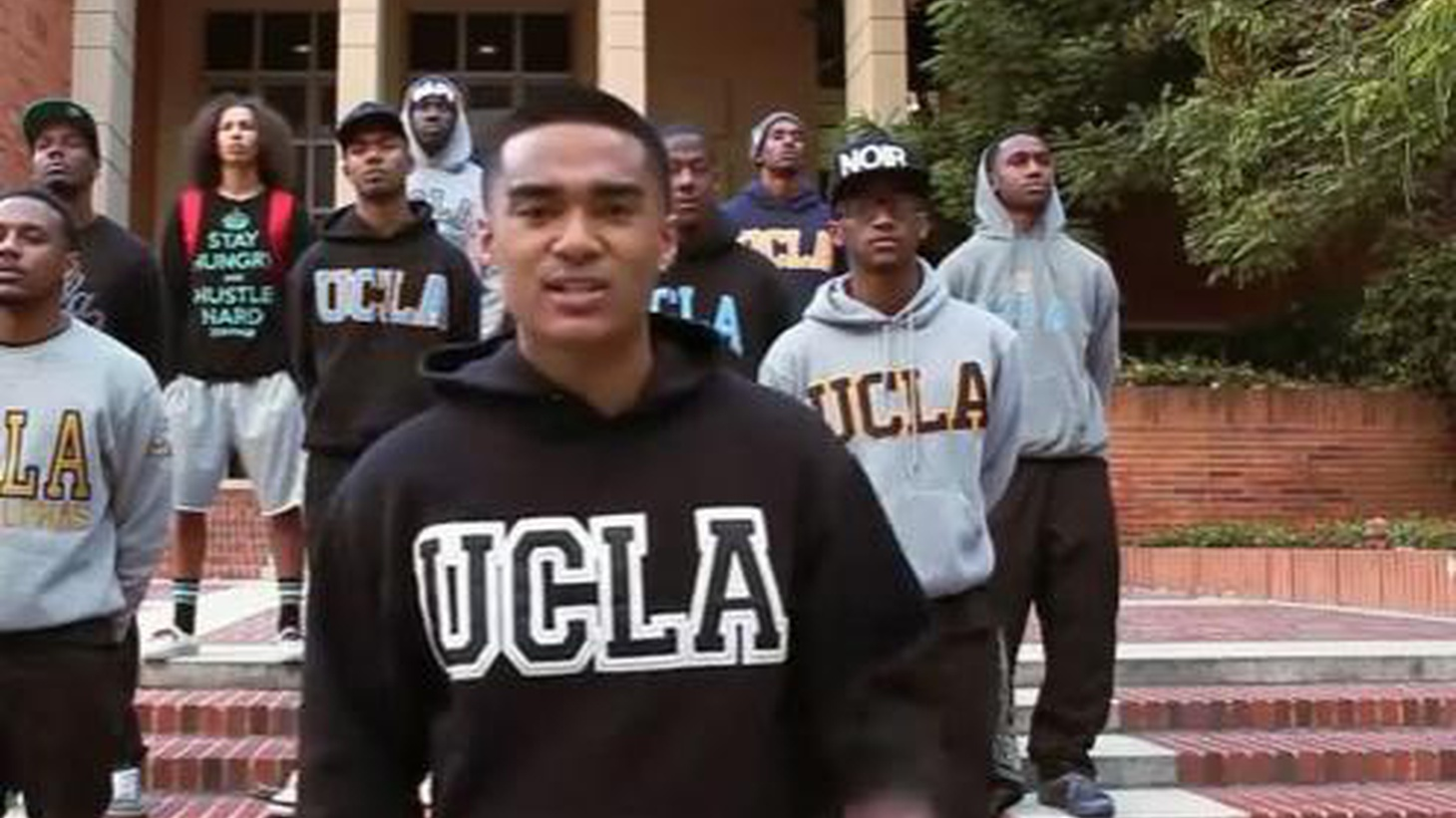 A spoken-word student-video on YouTube dramatizes how few African-Americans are admitted to UCLA. What's it like to be one of the only black students on campus?