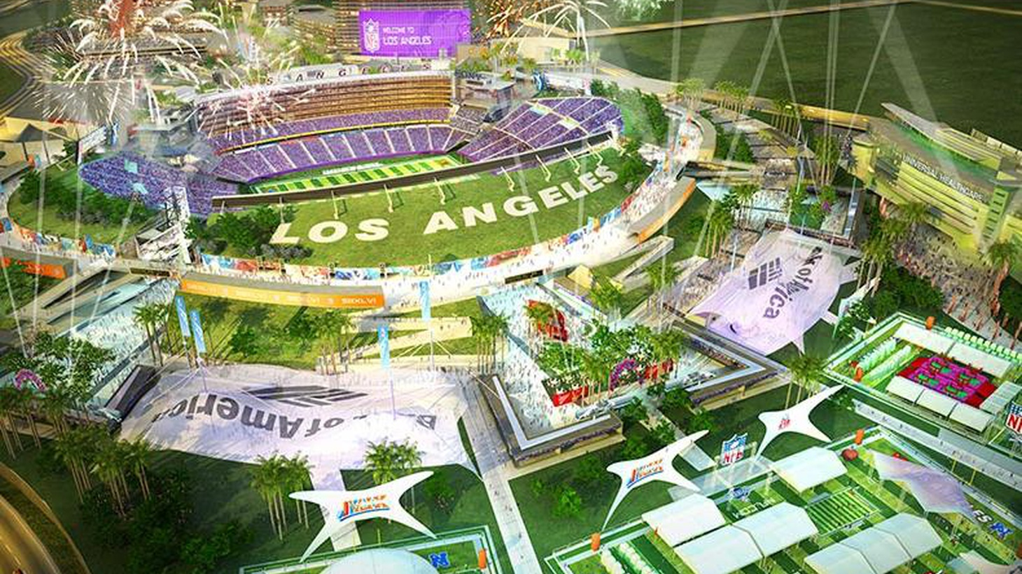 "Despite the excitement over Farmers' Field, the NFL hasn't agreed to locate a football team in LA. But in the City of Industry, Majestic Realty's site is ""shovel-ready."""