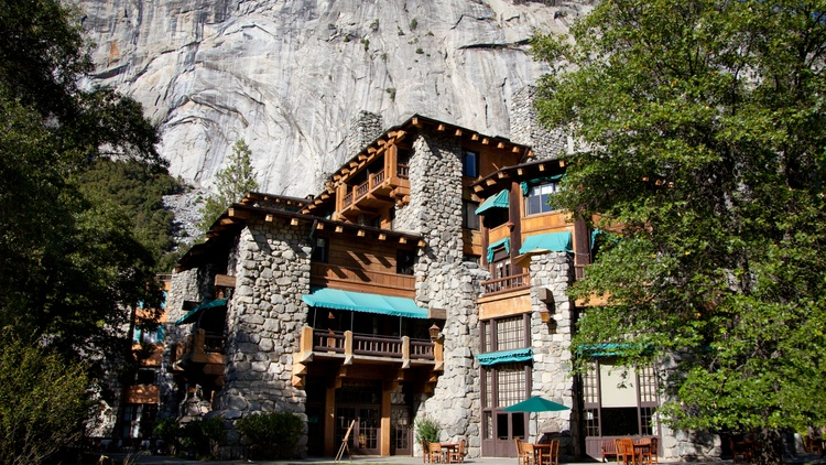 The Ahwahnee Hotel is about to become the Majestic Yosemite; The Wawona will be known as the Big Trees Lodge.