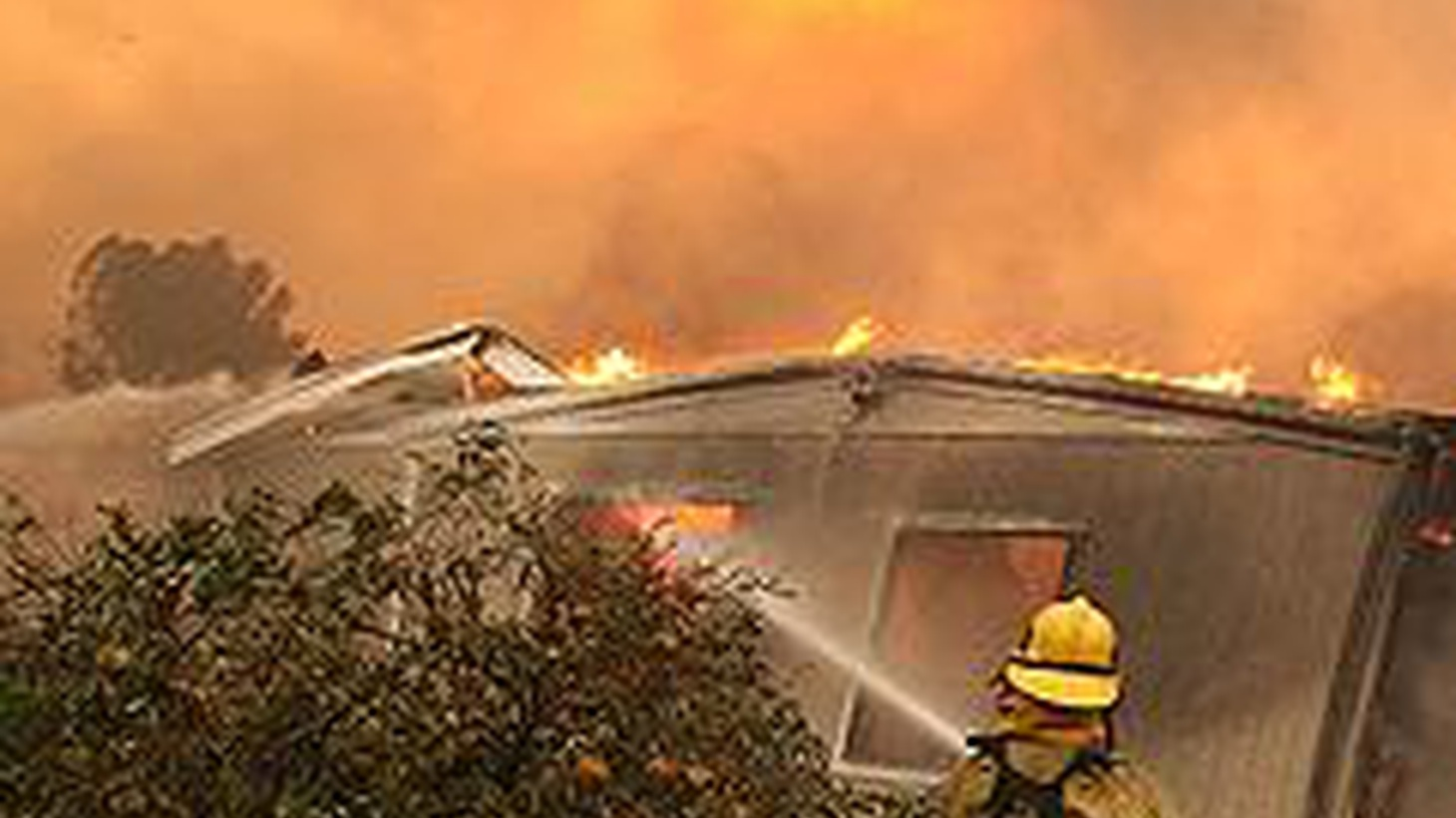 Nobody had to see the flames this weekend to know there were devastating fires in LA, Orange and Santa Barbara Counties. Smoke and ashes spread almost everywhere, from brush, trees and more than 1000 homes. We hear about the fires themselves and the consequences to public health. Also, California Attorney General Jerry Brown urges the State Supreme Court to take up six cases involving Prop 8 and decide them ASAP.