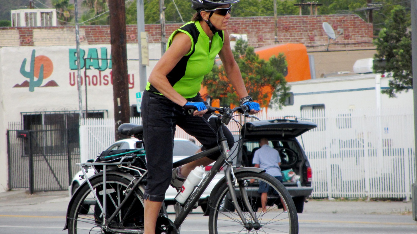 Riding a bike in metropolitan traffic can be taking your life in your hands. But a new rule for the roads of California went into effect this week: Motorists have to give cyclists a three-foot buffer zone. But how will it be measured? How will the law be enforced?