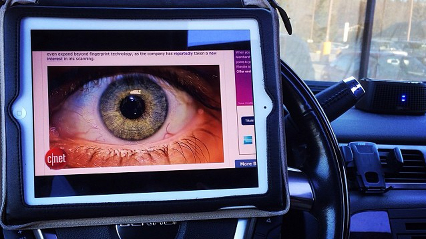 It used to be just your driver's license, then your fingerprint. Now LA Sheriff's deputies are prepared to record your picture, the shape of your eyeball and, possibly, the sound of your voice. Why is there no public debate about the potential invasion of privacy of the most intimate kind?