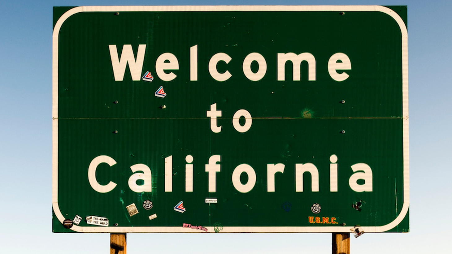 Compared to our neighbors to the north, east and south, California's borders are pretty shabby. Why? Well, it may just have to do something with our priorities as a state.