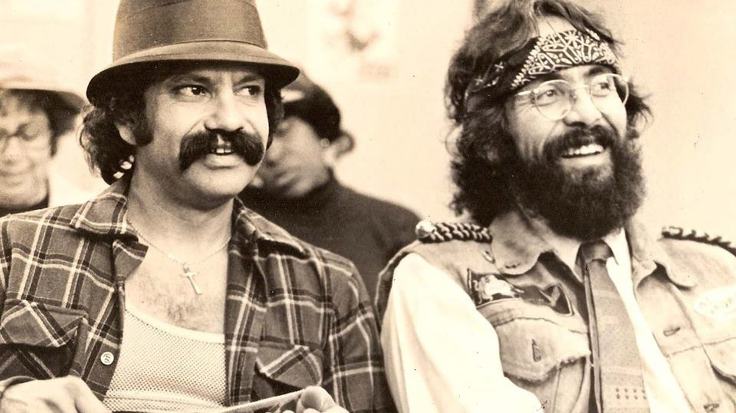 What half of the Cheech and Chong comedy duo can tell us about the Golden State.