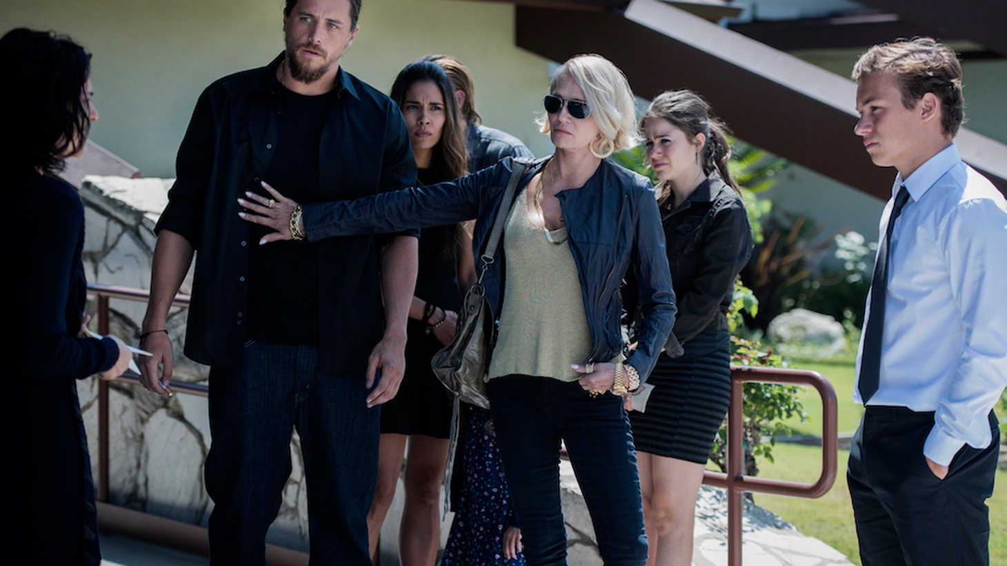 Hollywood's heading to the edges of California urban areas for a grittier slice of life in the Golden State. Joe Mathews says the latest example is Animal Kingdom, a new TV show starring Ellen Barkin as the matriarch of a mob family that takes place in the San Diego exurbs.