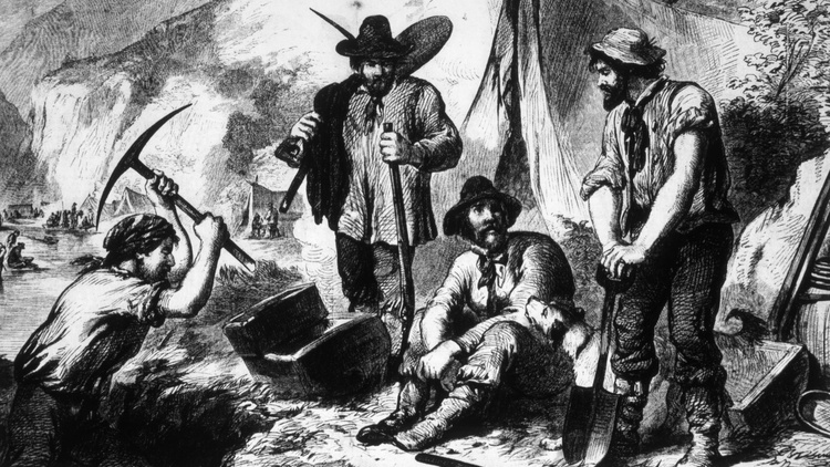 Columnist Joe Mathews says two 1848 events — California's Gold Rush and the Treaty of Guadalupe Hidalgo — re-founded the United States with different peoples, borders, and aspirations.