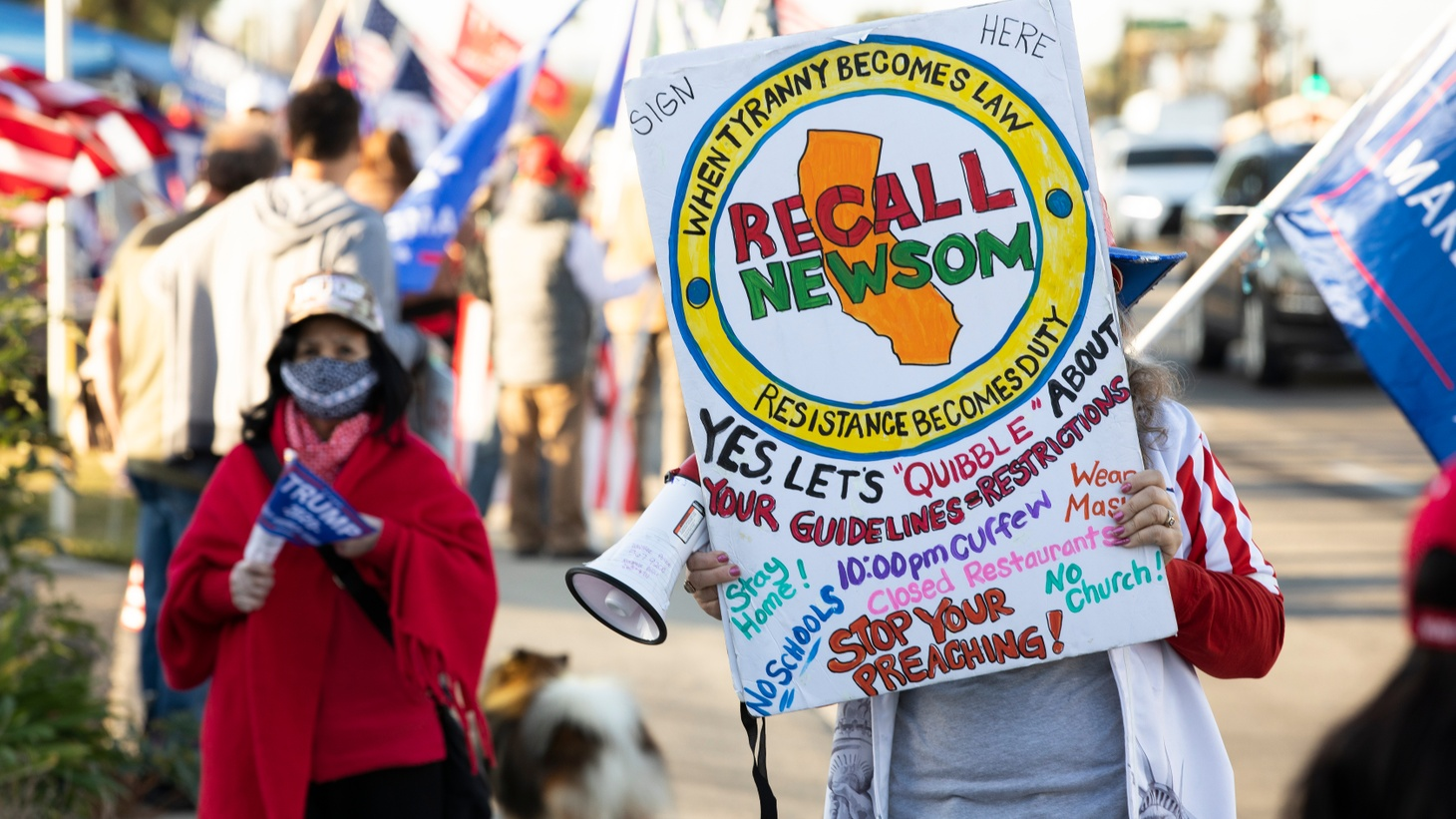 The recall was first advanced by the Republican governor Hiram Johnson in 1911, and it's been used aggressively ever since by the GOP.