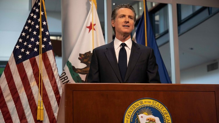 The drive to force a vote on removing Gavin Newsom from office is picking up steam, spurred on by anger over coronavirus restrictions and other conservative grievances.