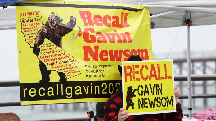 Your airwaves are going to be increasingly filled with political speeches and rallies. These are connected to the campaign aimed at removing Governor Gavin Newsom from office.