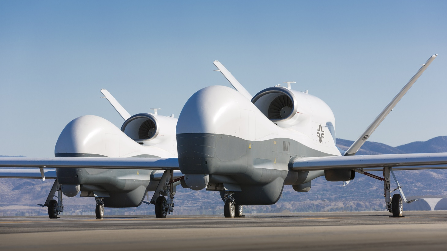 The Navy's newest unmanned Intelligence, Surveillance and Reconnaissance (ISR) aircraft platform, the MQ-4C Triton Unmanned Aircraft System (UAS), completed its first flight from Palmdale