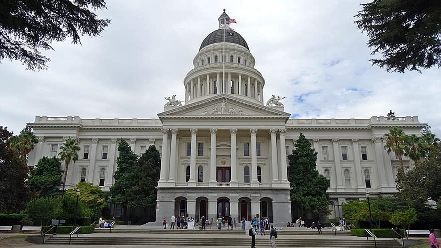 The California State Capitol, Sacramento, CA.