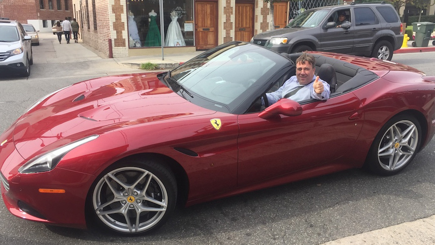 What does a $240,000 Ferrari California tell us about life in this state? Joe Mathews says it's a symbol that though the good life is just a freeway lane away, it's far out of reach for most of us.