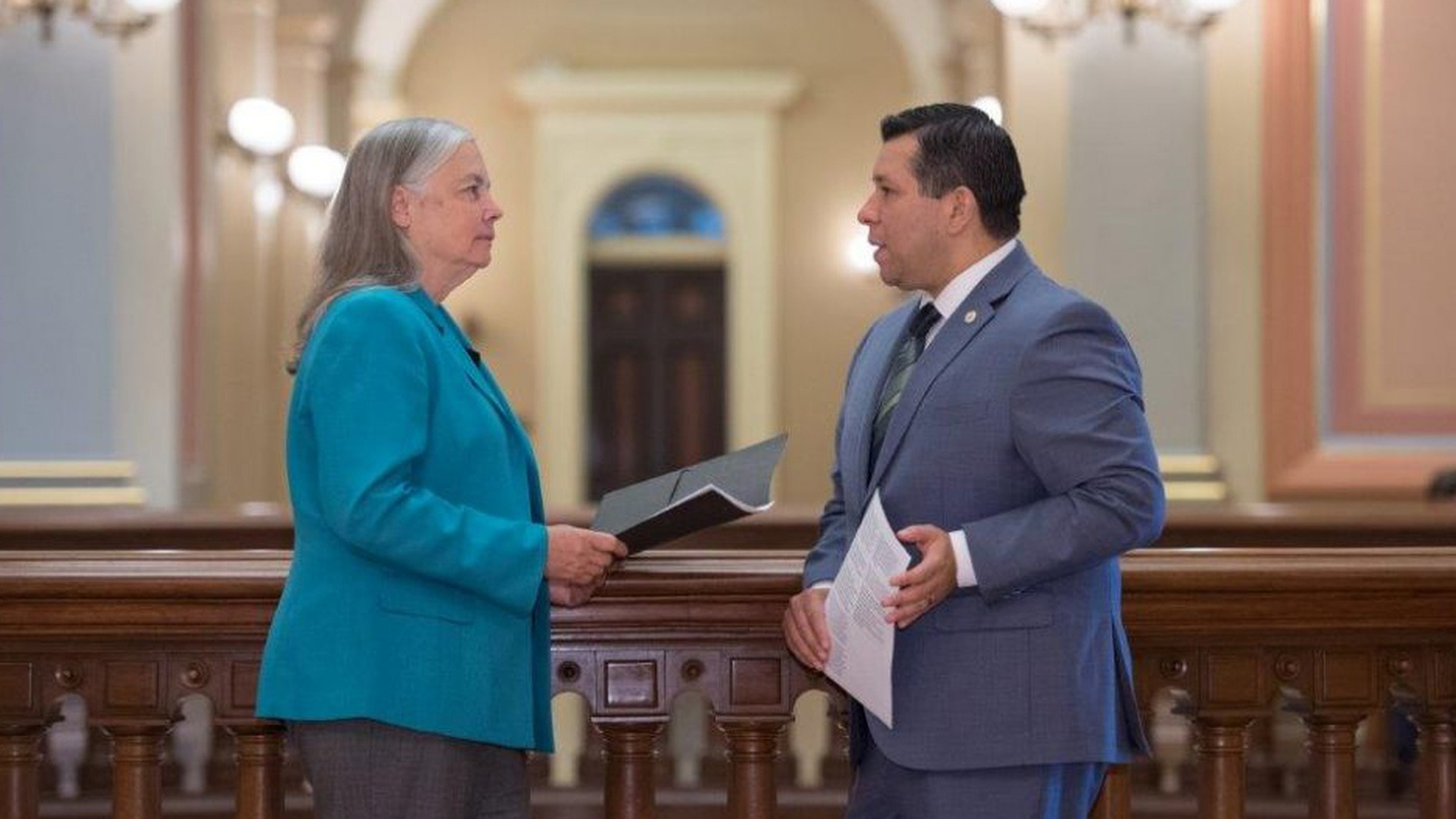 State lawmakers just passed a new generation of climate change laws, with an emphasis on making the legislation benefit the state's poorest regions. Joe Mathews says a lot of the credit goes to a couple of Southern California lawmakers who happen to be at very different places in their legislative careers.