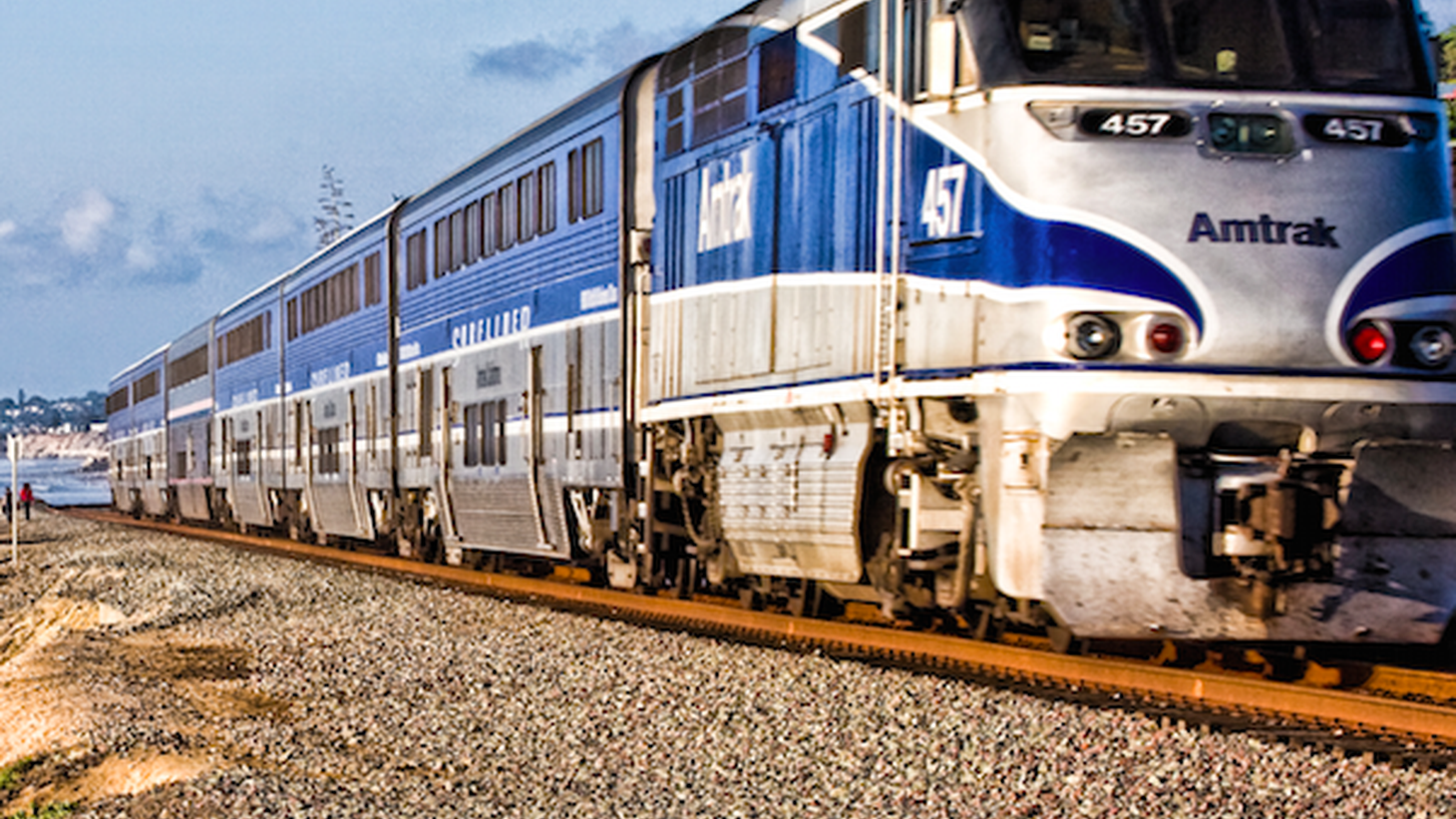 """Whoever said that """"Californians don't like trains' probably hasn't ridden Amtrak lately."""