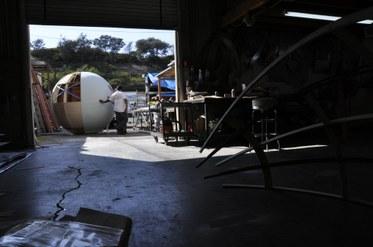 Bubble in studio
